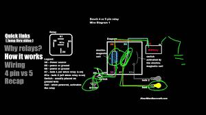 8 pin relay wiring diagram best of 4 12v inside fonar me relay tutorial 5 pin vs 4 wiring example 1 new diagram