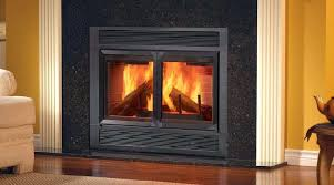 gas and wood burning fireplace beautiful wood burning fireplace doors for household living room