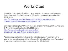 apa format work cited creating a works cited page using the apa format also known as a