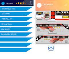 Sudiro tungga jaya livery bussid shd ori rombak jb3 voyager bussid. Livery Bussid Eka Apk Download For Android Latest Version 1 Com Liveryupdate Bussidekaxhd