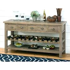 Sofa table with wine storage Hallway Navigating Wine Shop Rustic Racks Rack And Counter Height Dining Table With Storage High Box Denisse Benitez Dining Table With Wine Storage Denissebenitezco