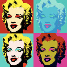 marilyn monroe artwork a la andy warhol after eurovision 2016 like conchita wurst for funny