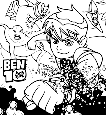 Small Picture Ben Ten Ben 10 Coloring Pages Wecoloringpage
