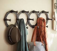 How To Hang A Coat Rack On A Wall Accordion Hanging Coat Rack Pottery Barn 65