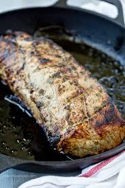 simple roast pork loin recipe
