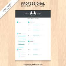 Free Cv Resume Print Free Cv Resume Template Download 100 Free Resume Templates 15