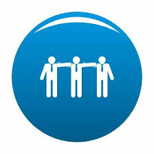 Image result for office worker teamwork icon