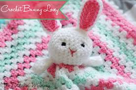 Free Crochet Lovey Pattern Adorable Crochet Bunny Lovey Free Pattern The Stitchin Mommy