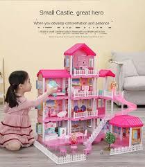 ChildWill Bán Chạy 2020 Trò Chơi Trẻ Em Đồ Chơi Nhà Cho Bé Gái Bộ Mô Hình  Lâu Đài Công Chúa Nhà Biệt Thự Mô Hình Nhà Búp Bê Quà Sinh Nhật