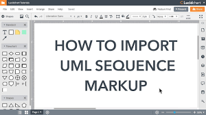 Lucidchart Tutorials Automate Uml Sequence Diagrams Uxuitube