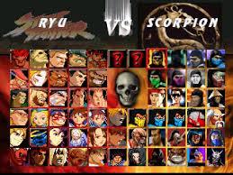 mortal kombat vs street fighter alternatives and similar games