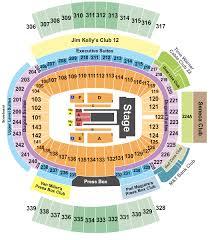 New Era Field Seating Chart Beyonce Beyonce Concert Tickets Seating Chart New Era Field