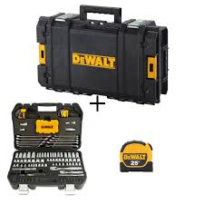 mechanics tool kit set 142 piece with case bonus toughsystem case