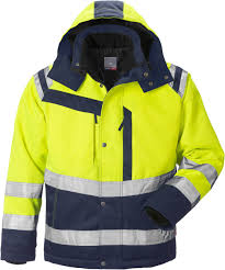 Fristads High Vis Winter Jacket Cl 3 4043 Pp