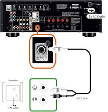 passive subwoofer wiring solidfonts passive subwoofer connection home theater forum and systems sub crossovers diagram