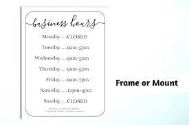 Christmas Opening Hours Template Copyofthebeauty Info
