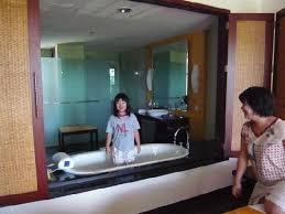 novotel bali nusa dua hotel residences see through bath tub