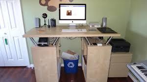 standing desk ikea design