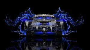 lexus lfa back super water car