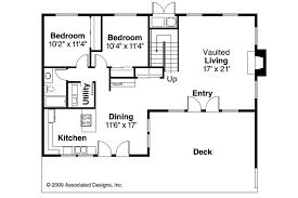 a frame house plan cascade 10 034 1st floor plan