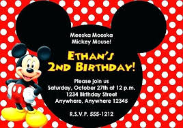 Free Minnie Mouse Invitation Maker Mouse Invite Template Mouse Free