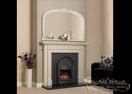 ivory over mantel mirrors from