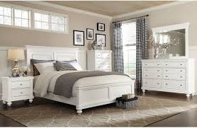 bedroom furniture bridgeport 6 piece queen bedroom set white