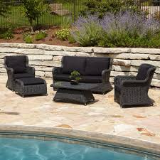 elegant outdoor furniture. image of furniture alcee resin wicker outdoor piece patio lounge set regarding seat elegant