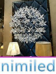nimi802 led crystal ball chandelier erfly petal flowers art lighting living room restaurant pendant lights hanging wire lamps staircases pendant lantern