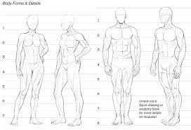 Costume Measurement Sheet Template How To Draw Comics Character Design Drawing The Figure