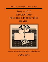 2014 15 Pell Chart 2014 2015 Sam Manual The City University Of New York