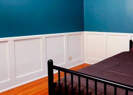 to install recessed panel wainscoting