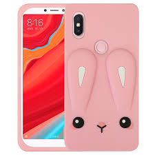 3D Cute Cartoon Rabbit Case Cover for Xiaomi Redmi Note 5 Rubber Soft Silicone Cases Note5 Phone Capa