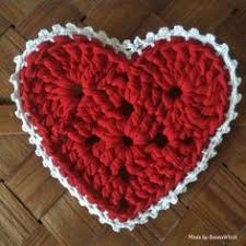 Crochet Heart Pattern Free Delectable Free Crochet Pattern For This Heart Sachet Crochet Pinterest