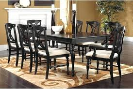 black dining room table and 8 chairs exquisite dining room table set for 8 of seat