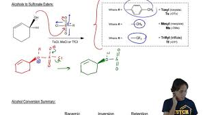 Leaving Group Conversions Sulfonate Esters Youtube