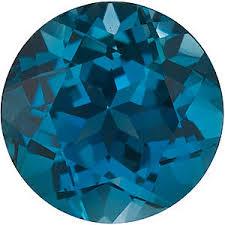 London Blue Topaz Gemstones Loose London Blue Topaz Stones