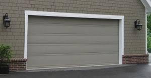 flat panel garage doorGarage Door Buying Guide  Sizes Styles Materials  More
