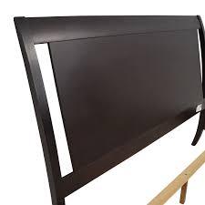 72% OFF Macy s Furniture Collection Macy s Dark Wood Queen