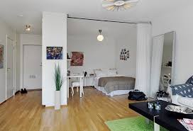 View In Gallery. The Bedroom Is An Area Separated From The Living Room ...