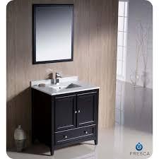 fresca fvn2030es oxford 30 espresso traditional bathroom vanity