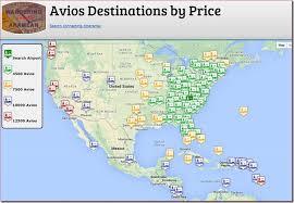 Visualizing The Avios Award Charts On A Map Flyertalk Forums