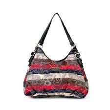 Coach Fashion Signature Medium Black Shoulder Bags BCE