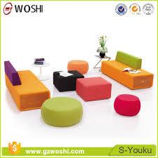 modern office sofa. office furniture colorful modern lobby sofa design fabric combination sofas set breakout