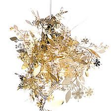 garland light gold brass