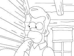 Dessins Simpsons Colorier Dessin The Homer Young Lisa Simpson