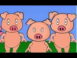 the three little pigs animated fairy tale bedtime storybook for kids