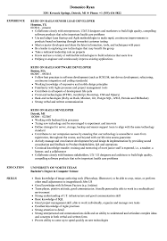 Ruby On Rails Developer Resume Sample Ruby Rails Developer Resume Samples Velvet Jobs 1