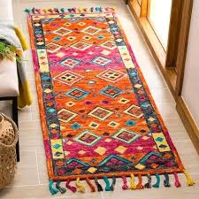 modern orange rugs uk handmade aspen contemporary fuchsia wool rug x 5 modern orange and grey rug