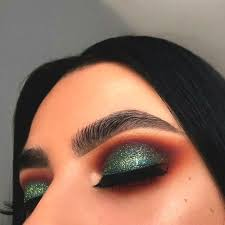 makeup green eyeshadow makeup look for